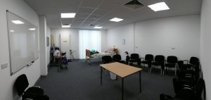 Care room - Lincoln training centre