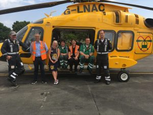 Lincolnshire air ambulance
